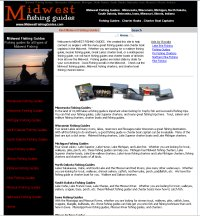 Midwest Fishing Guides - fishing guides across the Midwest